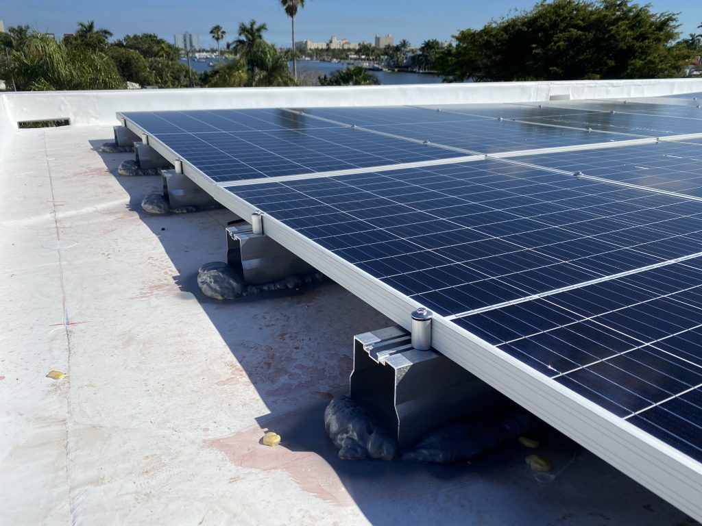 Solar panel roof mounts from Solar Stack